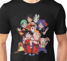 Goku Dragon ball and friend Unisex T-Shirt