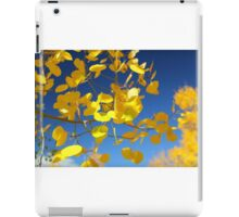 Aspen Leaves iPad Case/Skin