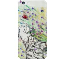 Curious Kitty iPhone Case/Skin