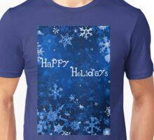 Happy Holidays Card 2 Unisex T-Shirt