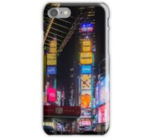 Times Square, New York City, New York, USA. iPhone Case/Skin