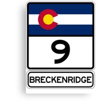 CO-9 Breckenridge Colorado Canvas Print