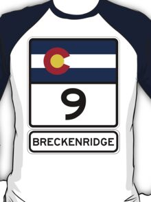 CO-9 Breckenridge Colorado T-Shirt