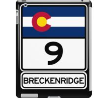 CO-9 Breckenridge Colorado iPad Case/Skin