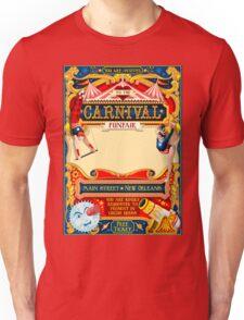 Circus Carnival Invite Poster Unisex T-Shirt