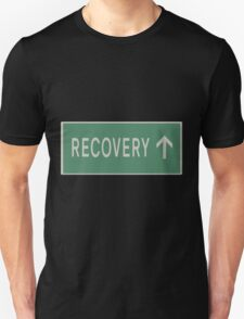 Road sign - The Road to recovery Unisex T-Shirt