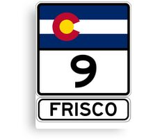 CO-9 Frisco Colorado Canvas Print