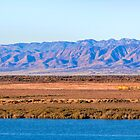 Port Augusta - Flinders Ranges  with train by Georgie Sharp