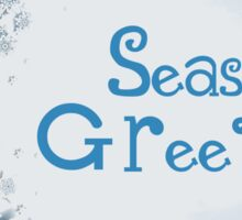 Seasons Greetings Sticker