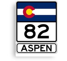 CO-82 - Aspen Canvas Print