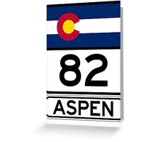 CO-82 - Aspen Greeting Card