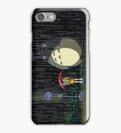 under umbrella iPhone Case/Skin