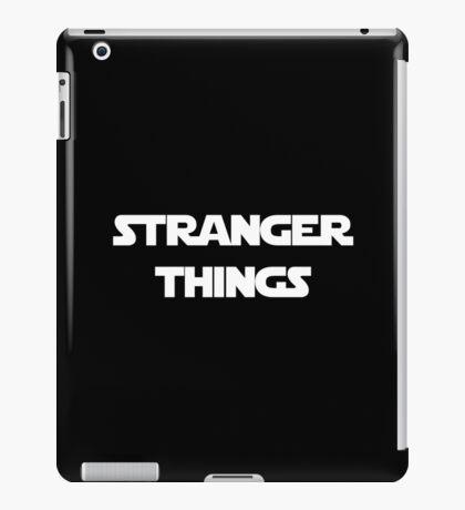 Stranger Things - StarWars Font iPad Case/Skin