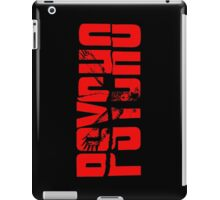Red owl iPad Case/Skin