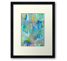 Samsung  Galaxy S5 case - Blue Yellow Abstract Framed Print