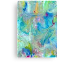 Samsung  Galaxy S5 case - Blue Yellow Abstract Canvas Print