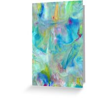 Samsung  Galaxy S5 case - Blue Yellow Abstract Greeting Card