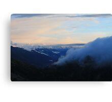 I like Mountains Canvas Print