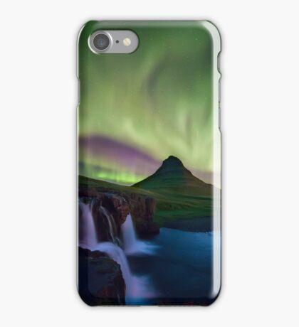 Iceland: magic aurora iPhone Case/Skin