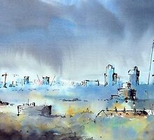 London Skyline by LordOtter