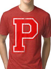 Big Red Letter P Tri-blend T-Shirt