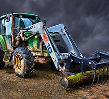 John Deer Tractor by peteton