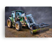 John Deer Tractor Metal Print