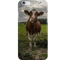 Pink Cow iPhone Case/Skin