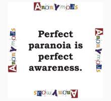 Perfect Paranoia - Anonymous Kids Tee