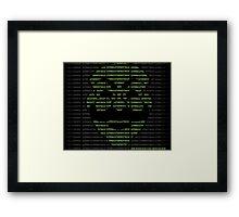 Hack the World Framed Print