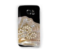 pearl necklace Samsung Galaxy Case/Skin