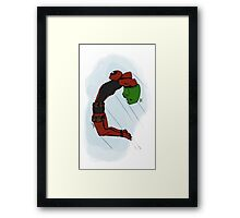 Deadpool The Hulk Framed Print