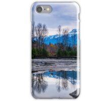Begbie winter sunset Revelstoke BC iPhone Case/Skin