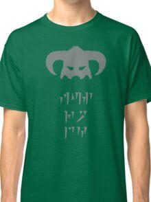 Skyrim Dovahkiin Fus Ro Dah Classic T-Shirt