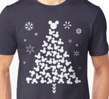 Xmas Mickey Head T-Shirt Unisex T-Shirt