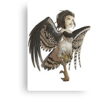 Harpy - Cute Mythical Creature Canvas Print