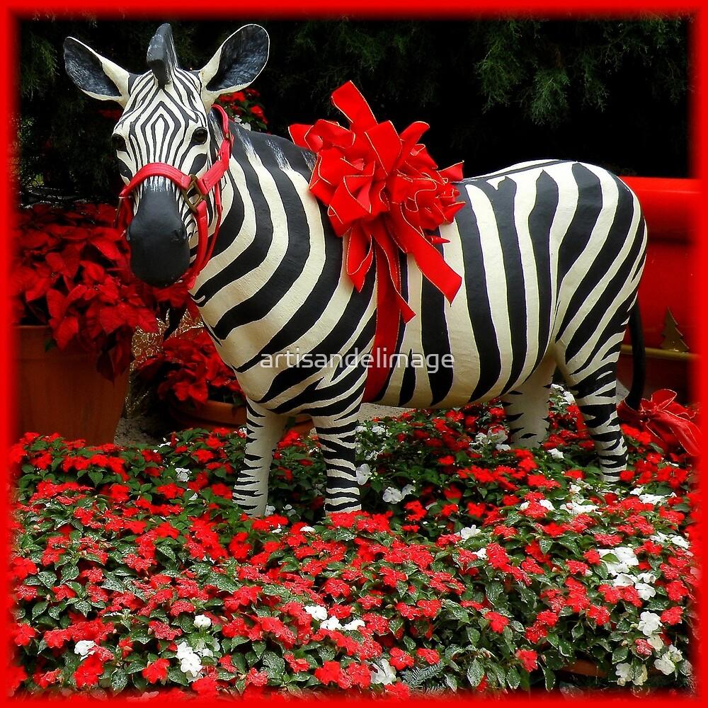 The Zebra's Mockery by artisandelimage