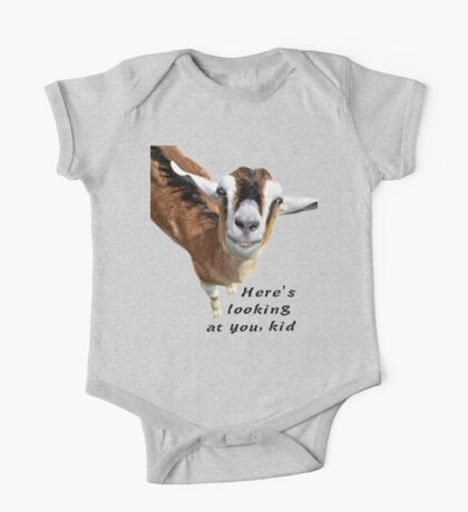 Here's looking at you kid One Piece - Short Sleeve