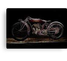 Indian Powerplus Clubman Racer Canvas Print