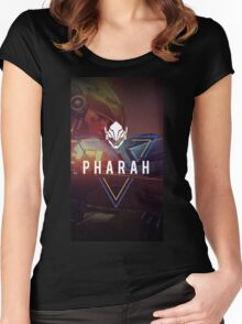 OVERWATCH PHARAH Women's Fitted Scoop T-Shirt