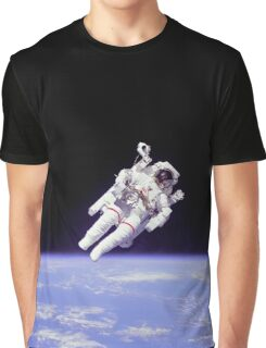 Astronaut spacewalking | Space Graphic T-Shirt