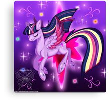 The Princess Of Friendship Canvas Print