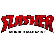 Slasher Magazine Photographic Print