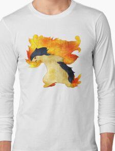 Typhlosion- The Volcano Pokemon Long Sleeve T-Shirt