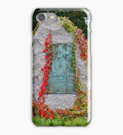 Memorial in the Fall iPhone Case/Skin