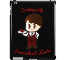 cooking with Hannibal Lecter iPad Case/Skin