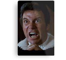 William Shatner Captain Kirk / Khan digital painting Metal Print