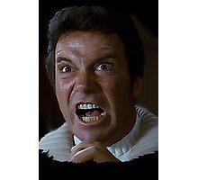 William Shatner Captain Kirk / Khan digital painting Photographic Print