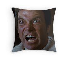 William Shatner Captain Kirk / Khan digital painting Throw Pillow