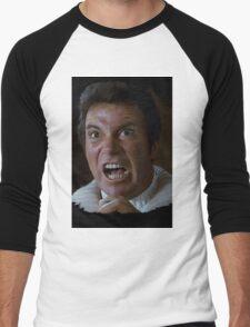 William Shatner Captain Kirk / Khan digital painting Men's Baseball ¾ T-Shirt